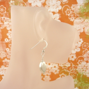 Brushstroke earrings