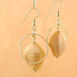 Butterscotch Delight I earrings