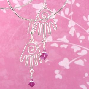 Healing Hands III earrings