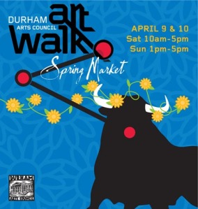 Spring Durham Art Walk